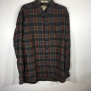 L.L. Bean Plaid Flannel Shirt